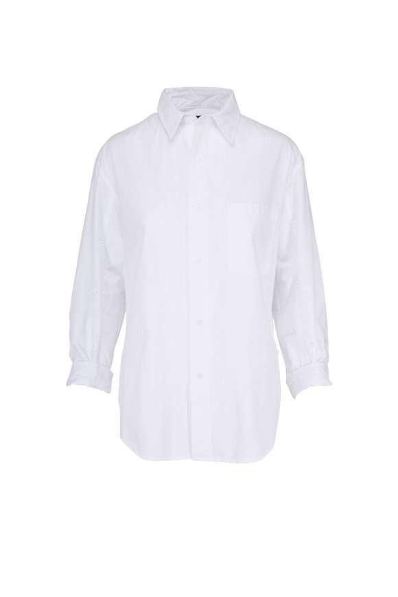 Citizens of Humanity Kayla White Cotton Shirt