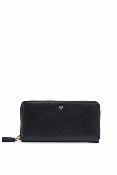 Anya Hindmarch - Black Leather Wallet