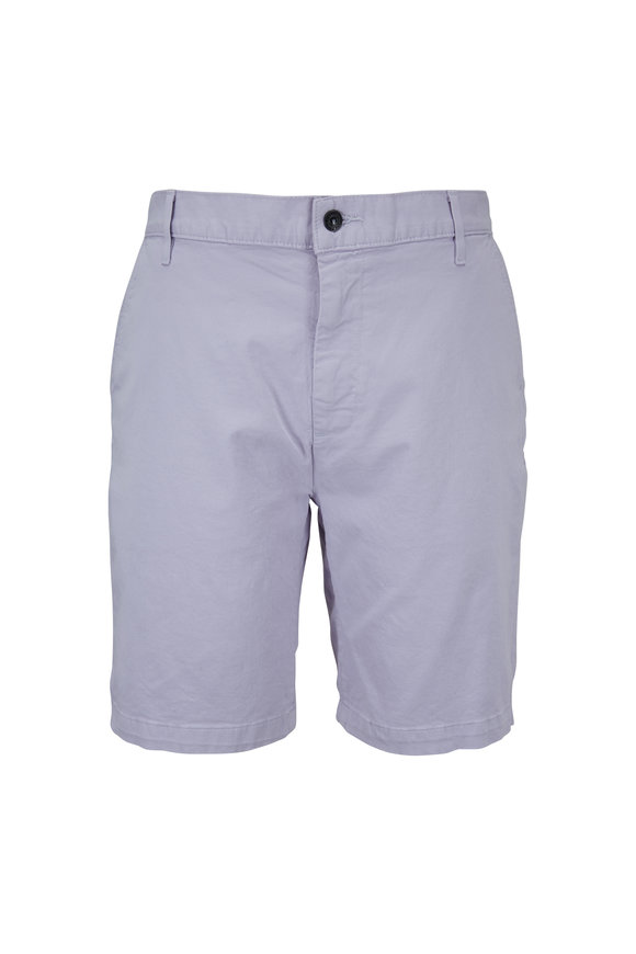 7 For All Mankind Clint Lavender Chino Shorts