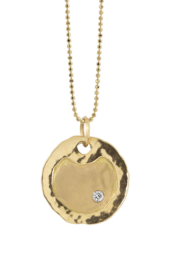 Julez Bryant 18K Yellow Gold Pendant Necklace