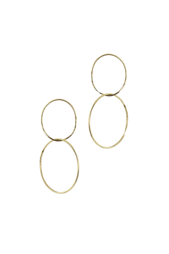 Julez Bryant 14K Yellow Gold Double Hoop Earrings