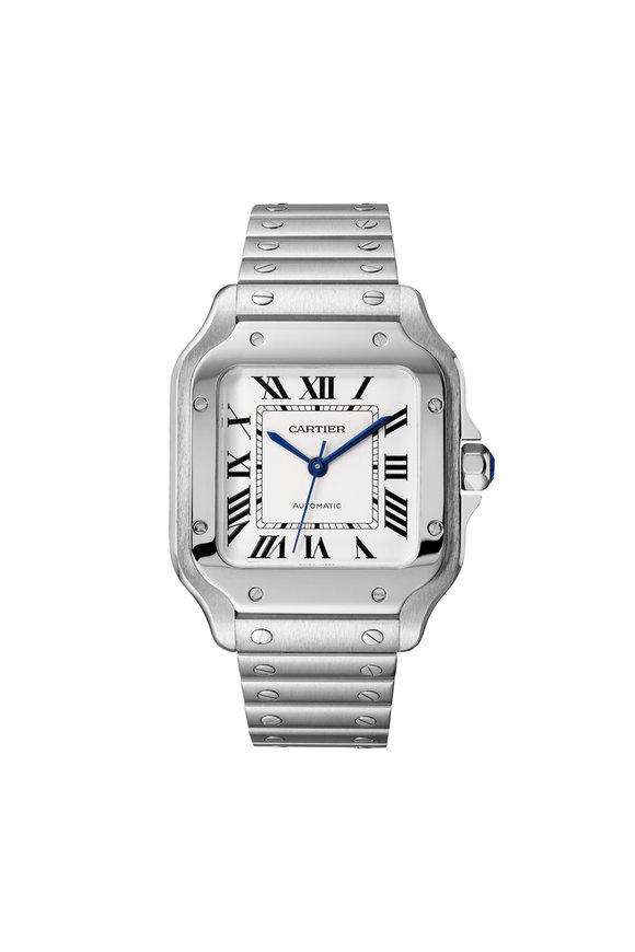 Cartier Santos de Cartier Steel Watch, 35mm