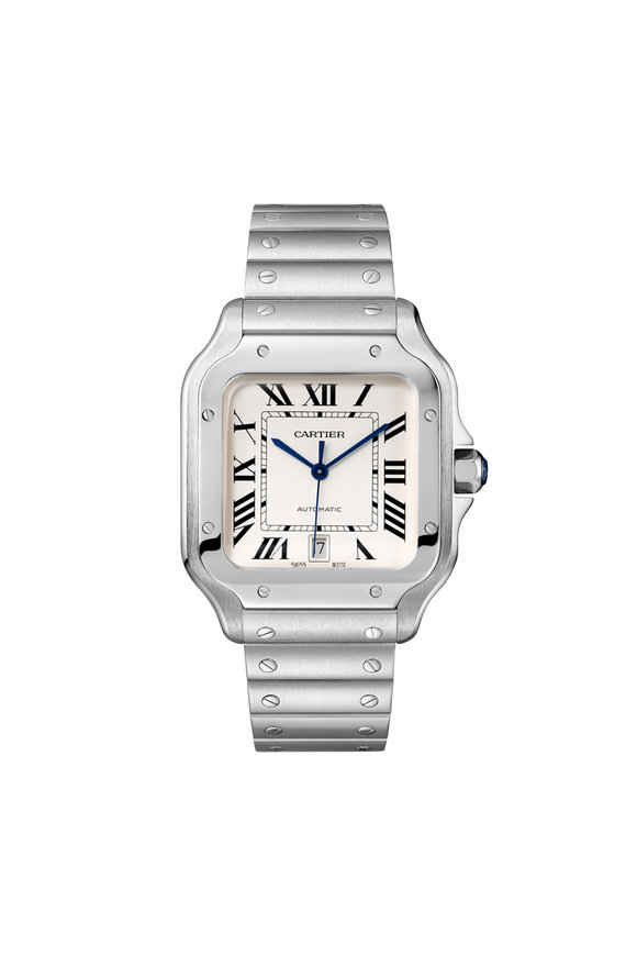 Cartier Santos de Cartier Steel Watch, 40mm