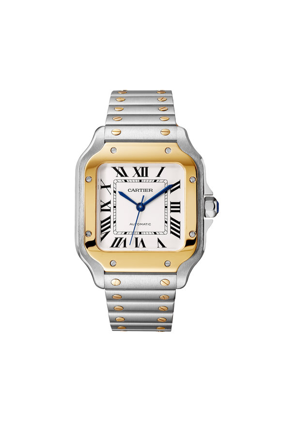 Cartier Santos de Cartier Steel & Gold Watch, 35mm