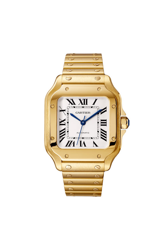 Cartier Santos de Cartier Yellow Gold Watch, 35mm
