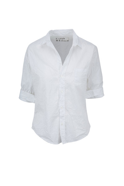 Frank & Eileen - Barry White Crinkle Button Down