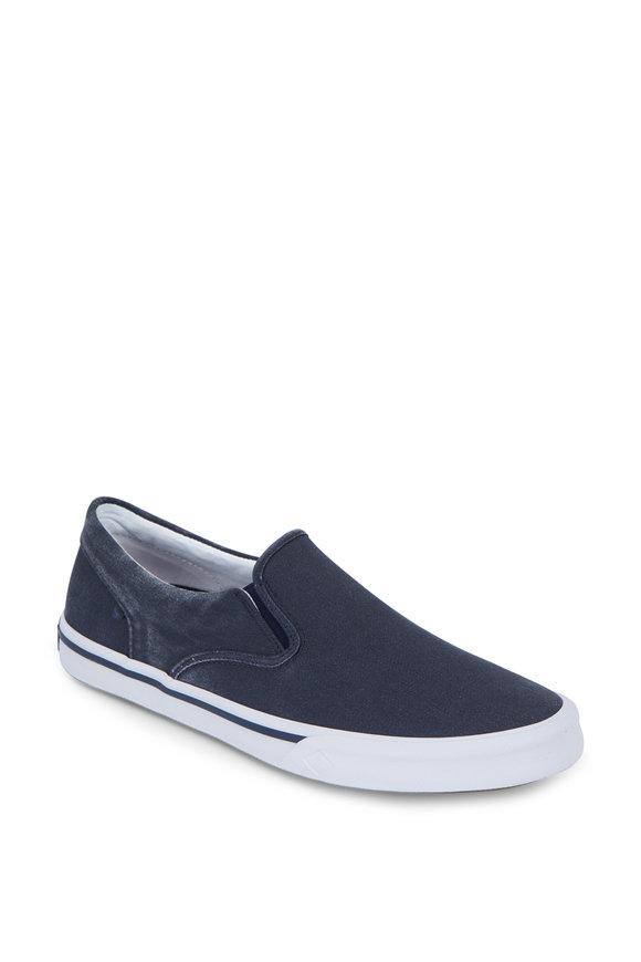Sperry Striper II Navy Blue Slip-On Sneaker
