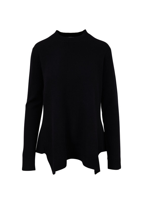 Derek Lam Black Cashmere Crewneck Sweater