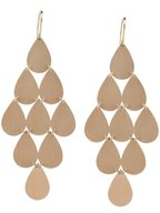 Irene Neuwirth - 18K Rose Gold Teardrop Chandelier Earrings
