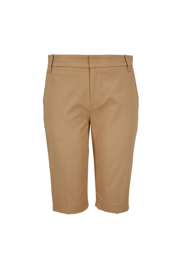 Vince Khaki Coin Pocket Bermuda Shorts