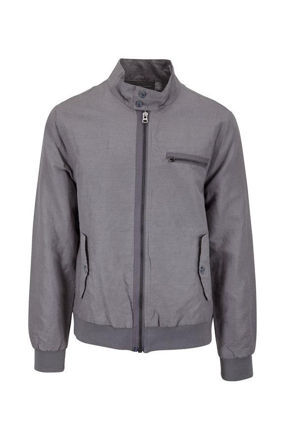 Michael Bastian Harrington Cavalry Gray Linen Twill Jacket