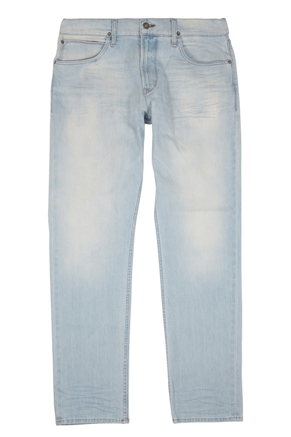 Hudson Clothing Blake Vintage Light Rinse Slim Straight Jean