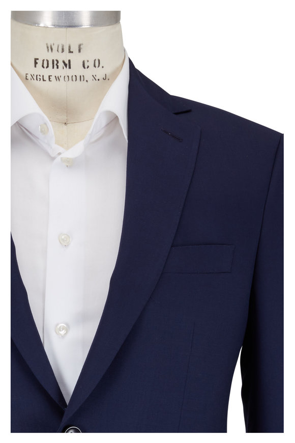 Coppley Navy Blue Wool Suit