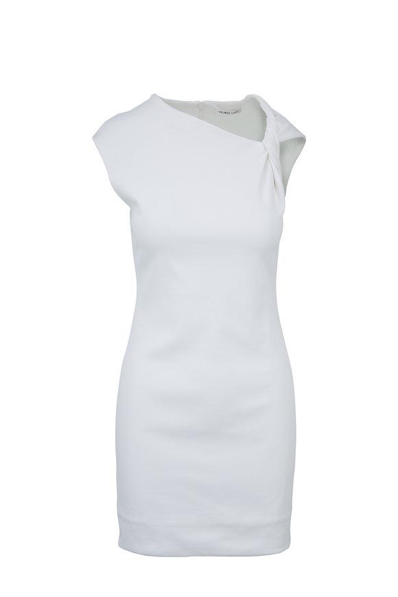 Helmut Lang White Twist Tank Sleeveless Dress