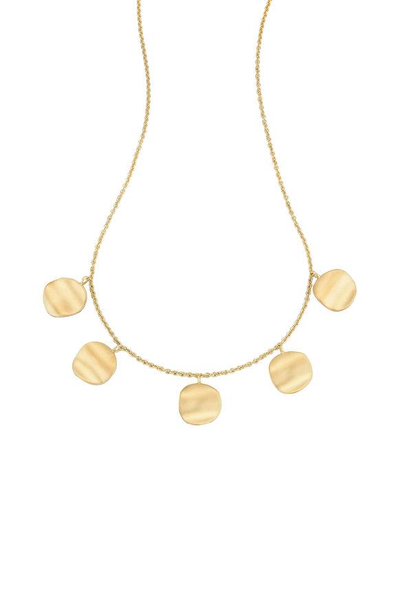 Sandy Leong 18K Yellow Gold Origin Five Disc Necklace