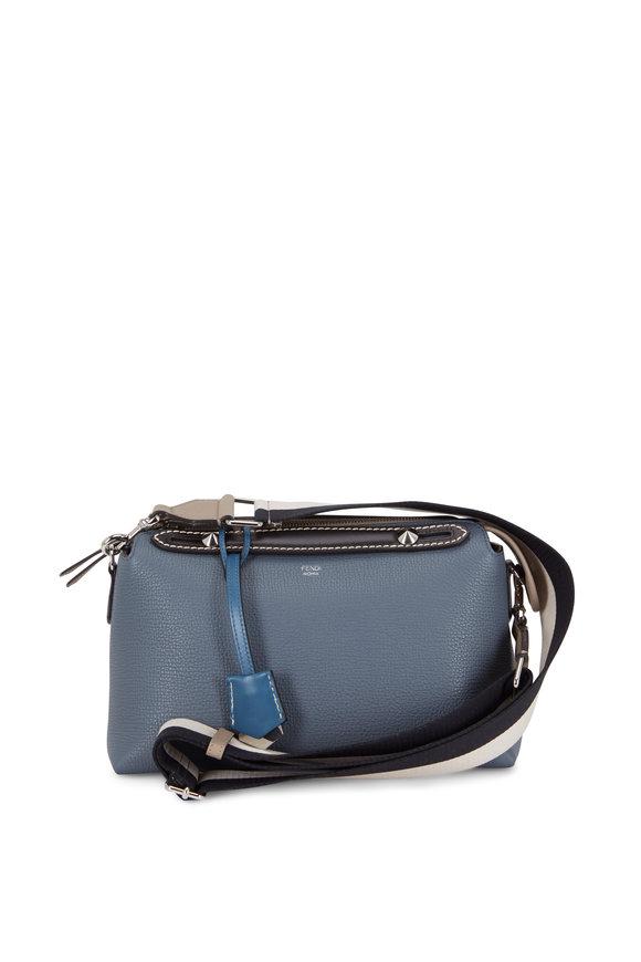 Fendi By The Way Sierra Leather Medium Boston Bag