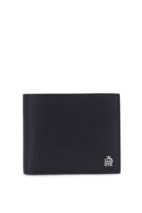 Dunhill Cadogan Black Leather Billfold Wallet