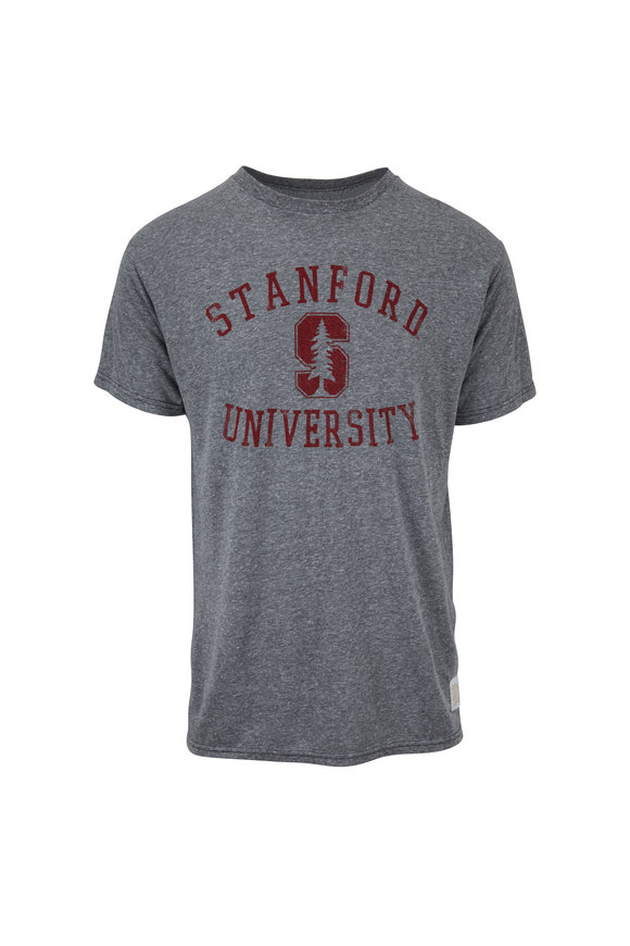 Retro Brand Gray Stanford T-Shirt