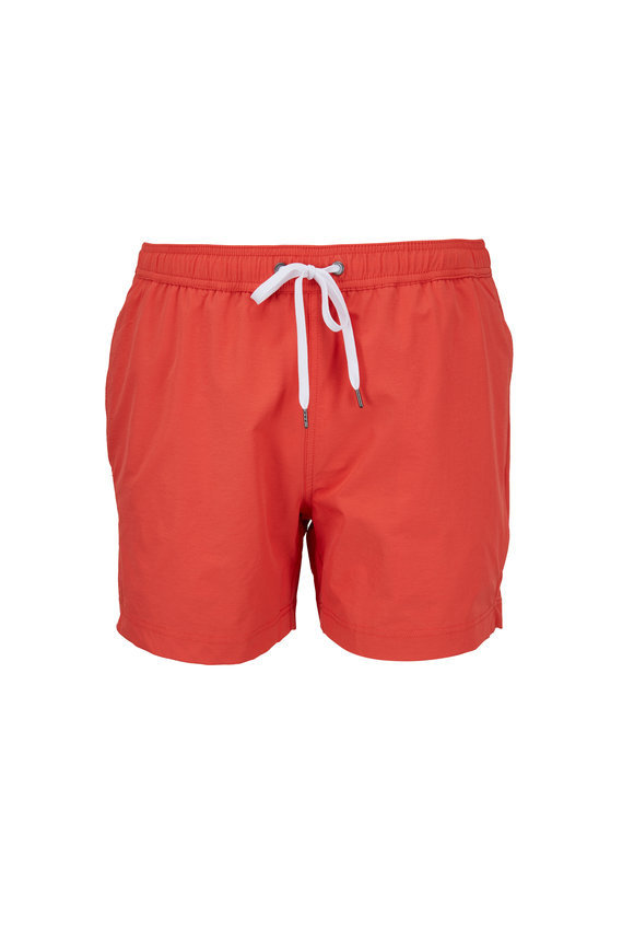 Onia Charles Grenadine Swim Trunks