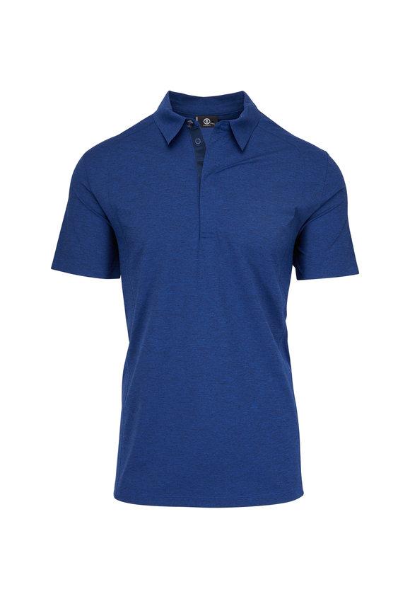 Bogner Malte Blue Stretch Polo