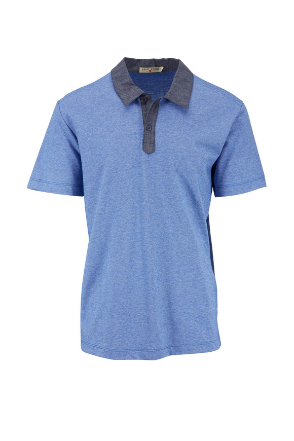 Agave Cape Solander Chambray Blue Polo