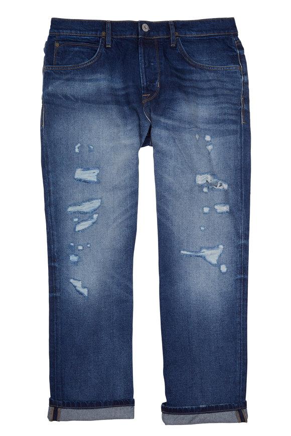 Hudson Clothing Blake Slim Straight Cropped Jean