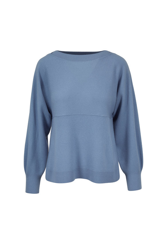 Vince Glass Cashmere & Wool Side Slit Sweater