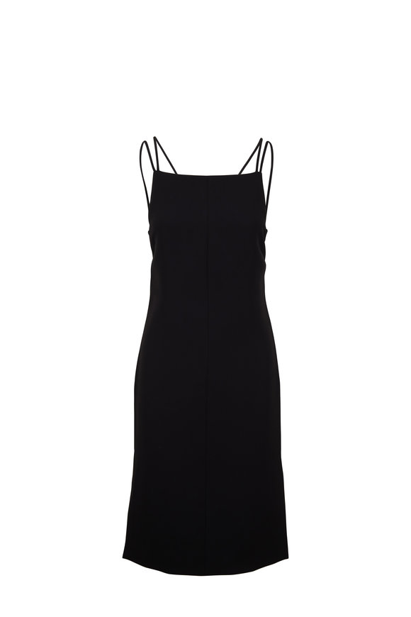 Rag & Bone Denton Black Strappy Back Dress