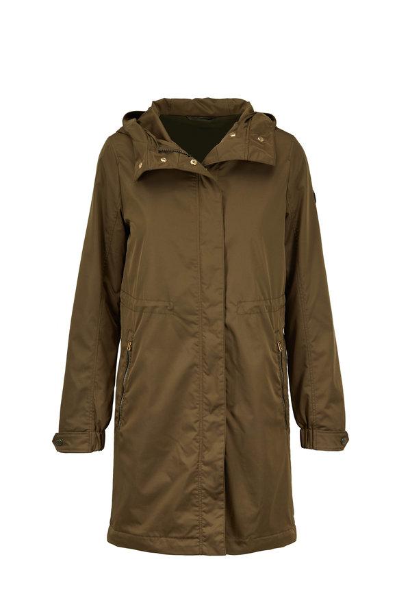 Bogner Avril Olive Green Nylon Anorak Jacket