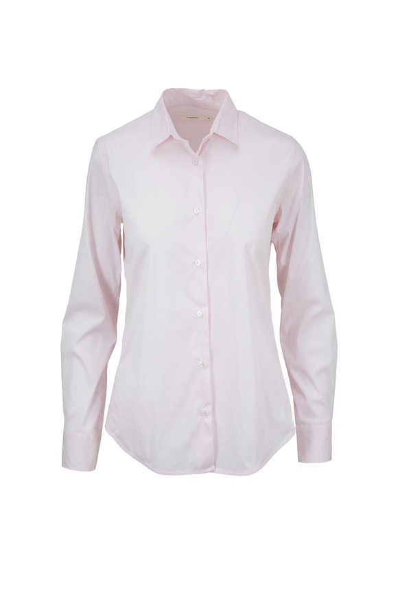 Lareida Pauline Rose Stretch Cotton Blouse