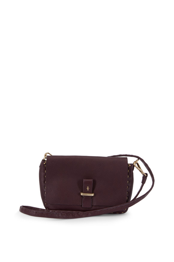 Henry Beguelin Pochette Simply Band Wine Small Shoulder Bag