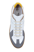 Maison Margiela - Replica Tri-Color Leather & Suede Sneaker