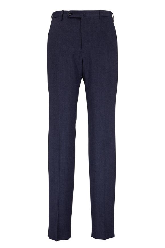 Incotex Blue Techno Wool Classic Fit Pant