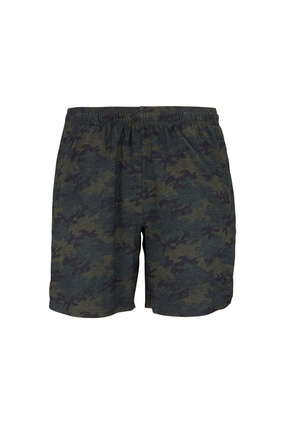 Rhone Apparel Guru Olive Camouflage Shorts