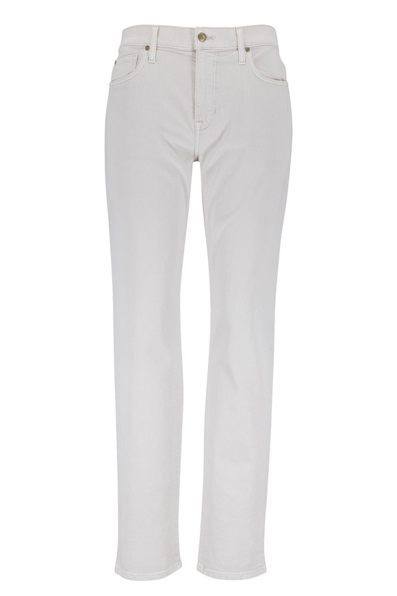 Joe's Jeans The Brixton Off-White Five Pocket Jean
