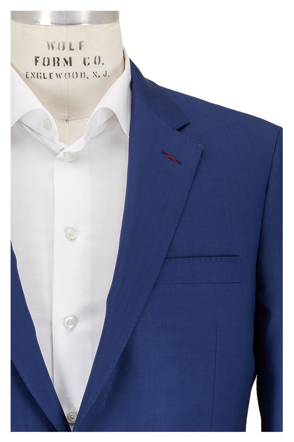 Samuelsohn Blue Ice Wool Suit