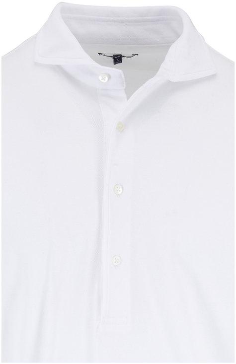 04651/ White Piqué Sport Shirt
