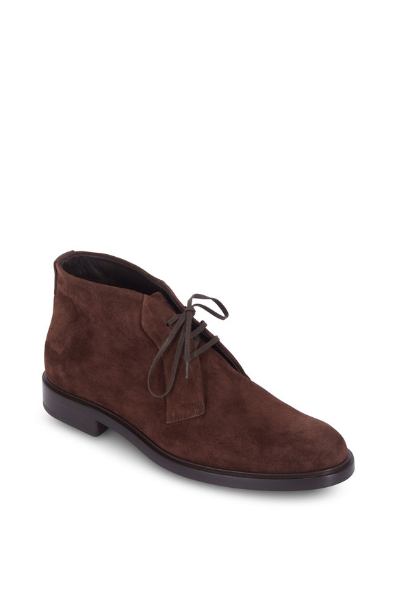 Vince Brunswick Coffee Suede Boot