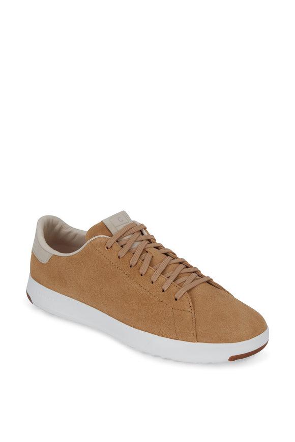 Cole Haan Grandpro Tennis Iced Coffee Suede Sneaker