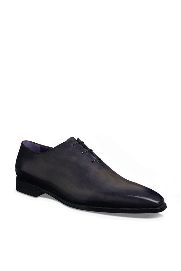 Berluti Alessandro Demesure Black Lace Up Oxford