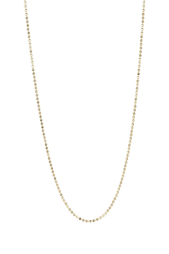 Julez Bryant 14K Yellow Gold Ball Chain Necklace