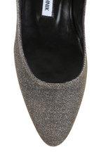 Manolo Blahnik - Listony Bronze Glitter Ankle Strap pump, 30mm