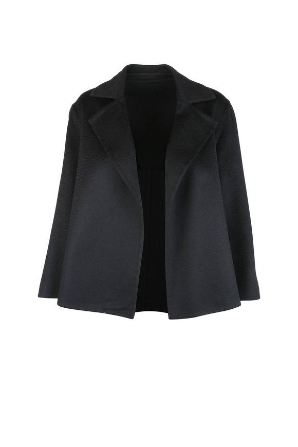 Kiton Black Cashmere Jacket