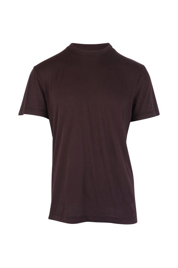 James Perse Fig Crewneck T-Shirt
