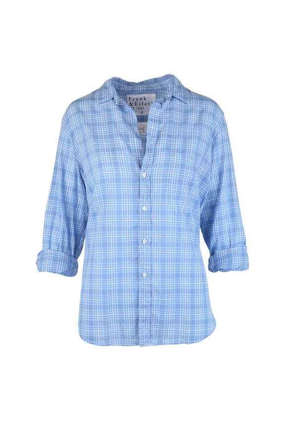 Frank & Eileen Eileen Blue Plaid Button Down