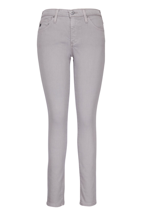 AG - Adriano Goldschmied Grey Legging Ankle Jean