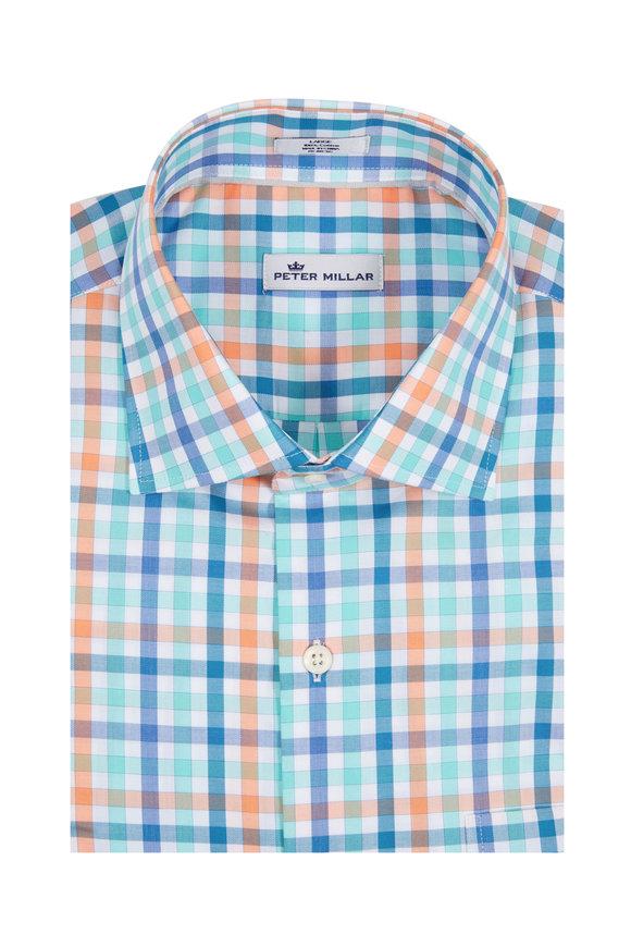 Peter Millar Multi Gingham Sport Shirt