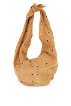 Saint Laurent - Tan Suede & Grommet Hobo Bag