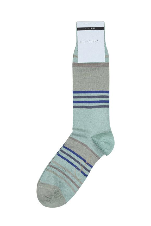 VKNagrani Mint Striped Socks