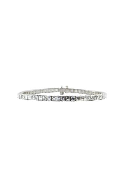 Oscar Heyman - Platinum Diamond Bracelet